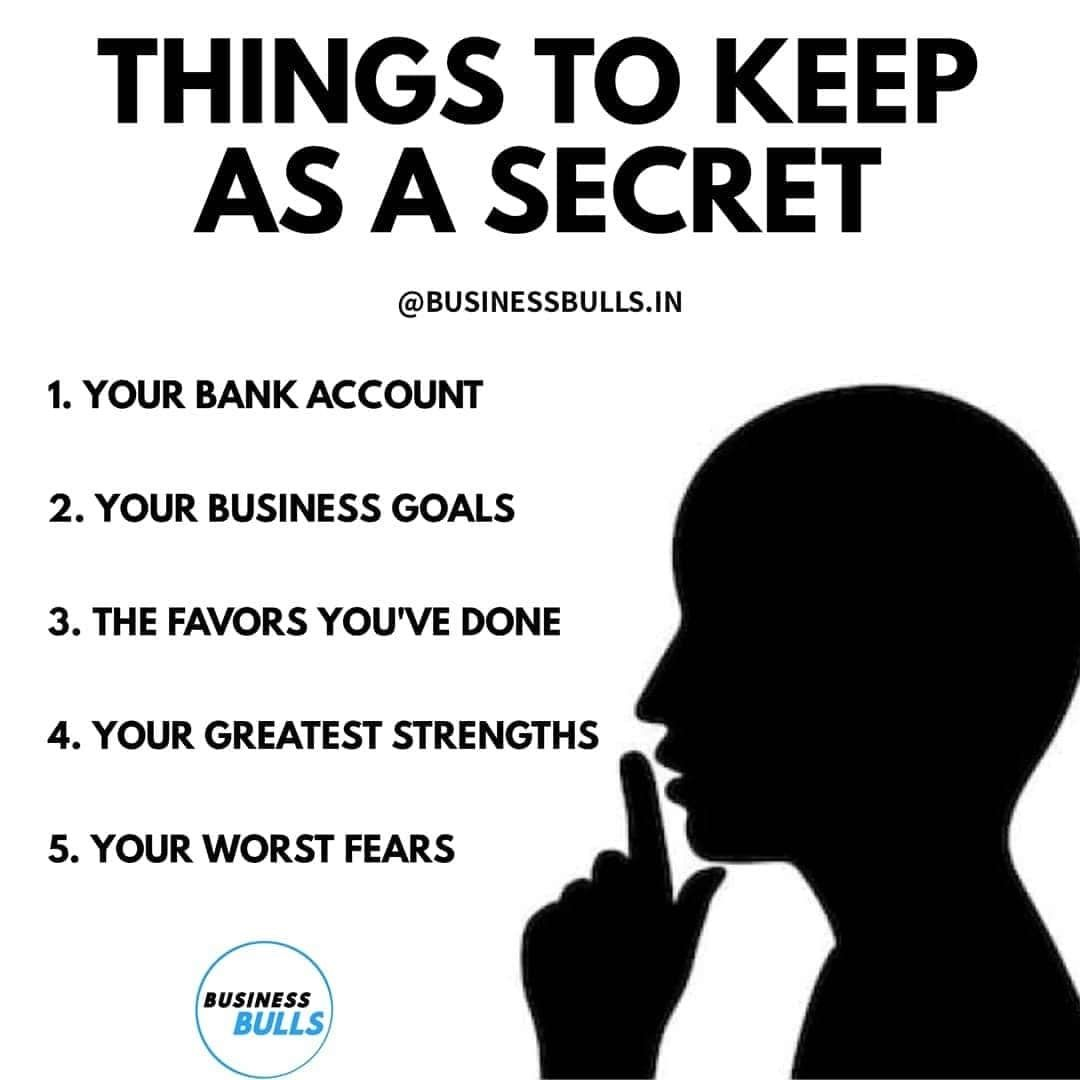 Things To Keep A Secret Knowledge Quotes Inspirational Quotes Study Motivation Quotes