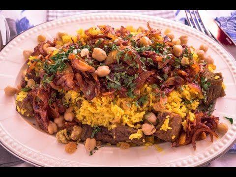 قابول عماني مع ارز بالزعفران Mini Recipe Youtube Food Beef Islamic World