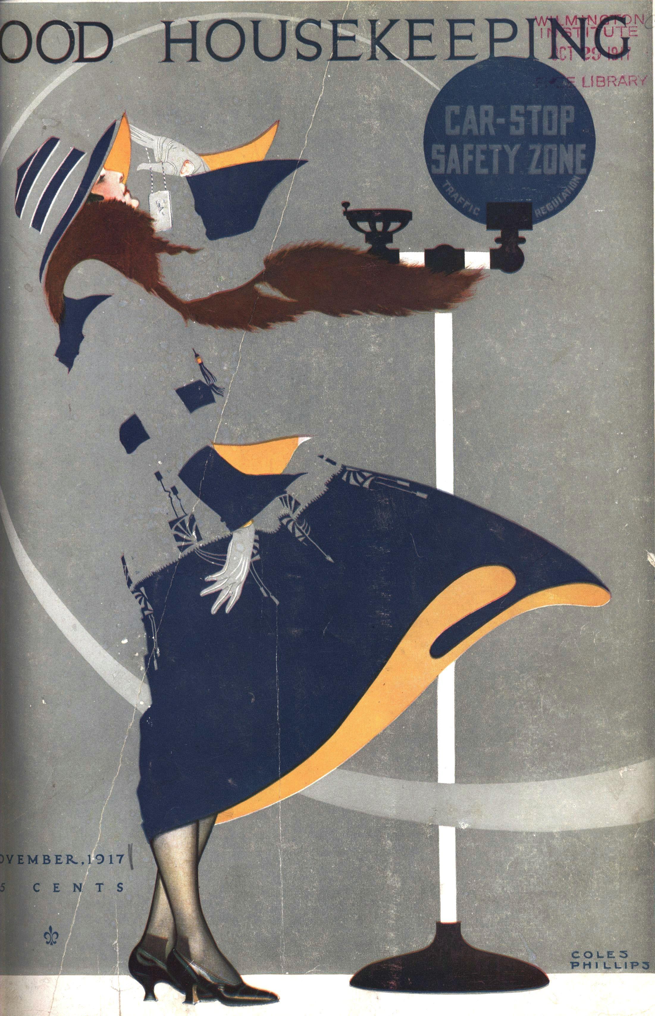 Coles Phillips Magazine Illustration Cover Art Vintage Illustration