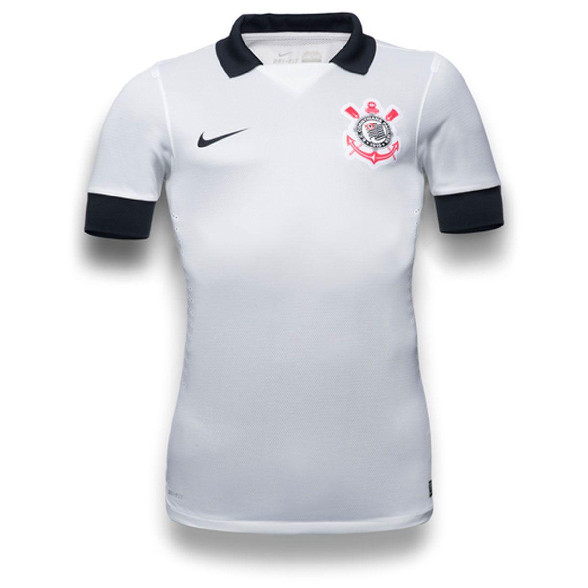 Camisa Nike Corinthians I 2013 s nº  526eb1e03b07b