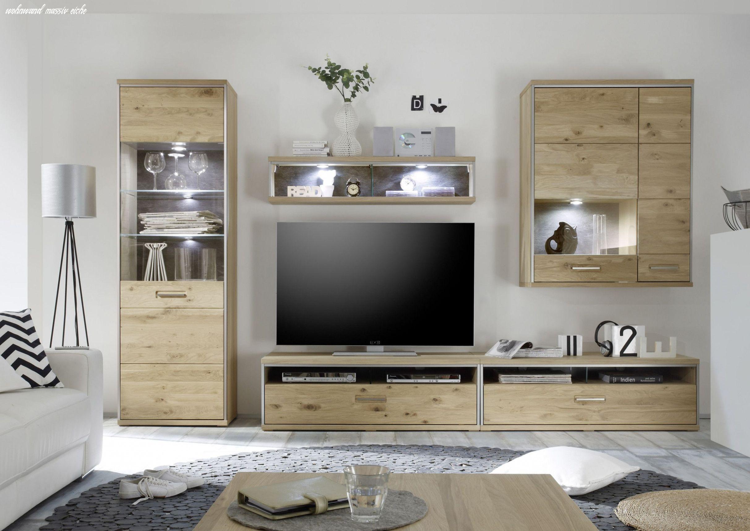 Die Modernen Regeln Von Wohnwand Massiv Eiche In 2020 Wohnzimmermobel Holz Modernes Mobeldesign Wohnzimmerschranke