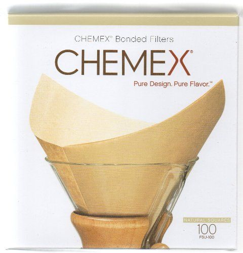 Chemex Bonded Unbleached Pre-folded S...