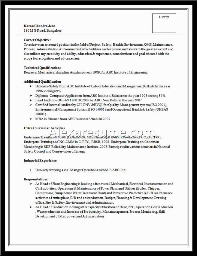 Resume Examples Best Good Excellent Over And Samples With Free