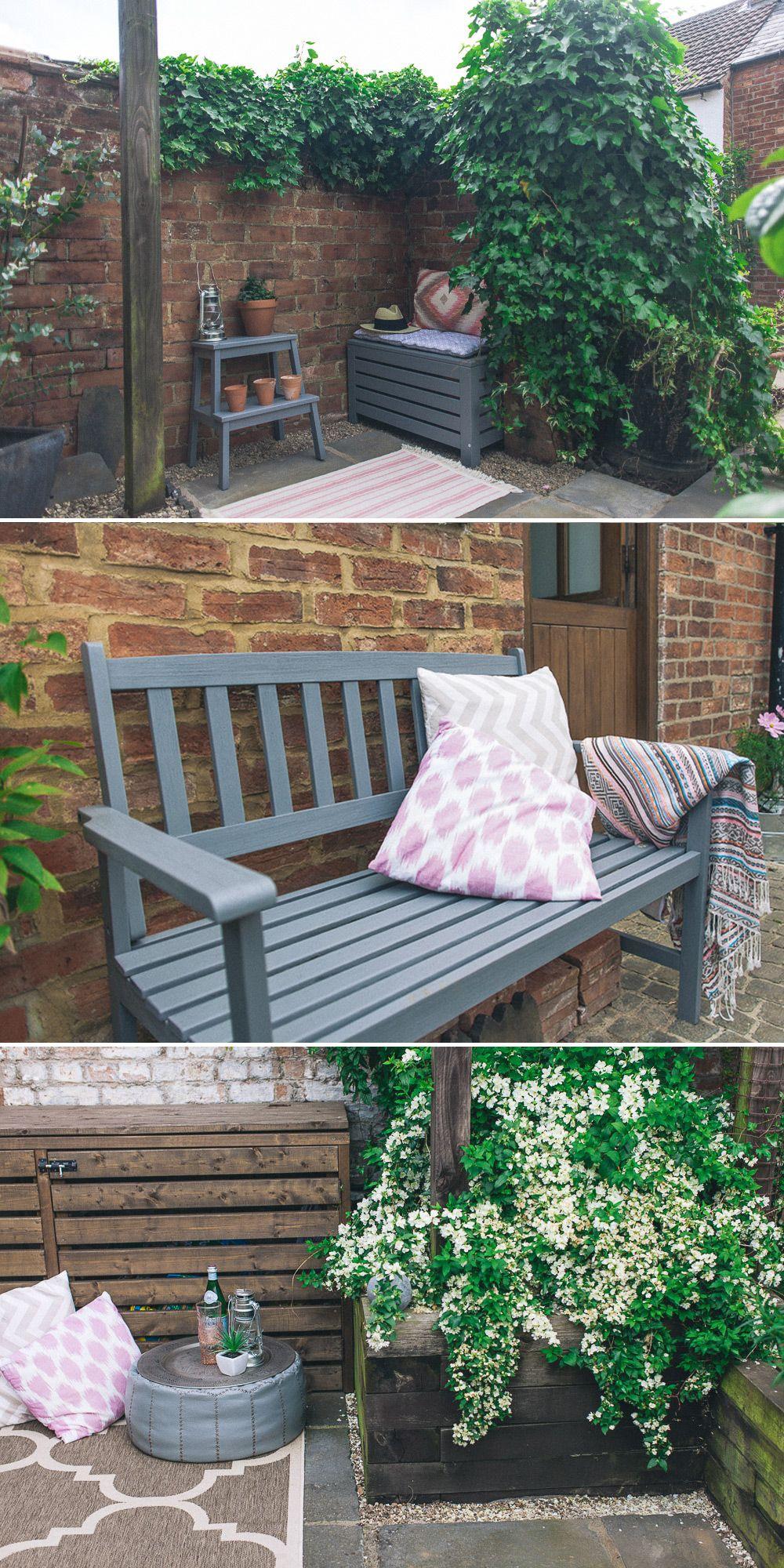 Lauren's House Painted garden furniture, Garden