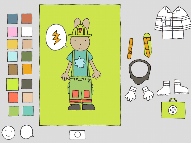 Color me a firefighter with this fabulous educational app ...