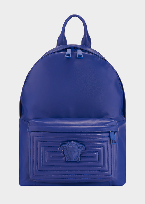 d301ec31322c VERSACE Medusa Labyrinth Leather Backpack.  versace  bags  leather  lining   backpacks