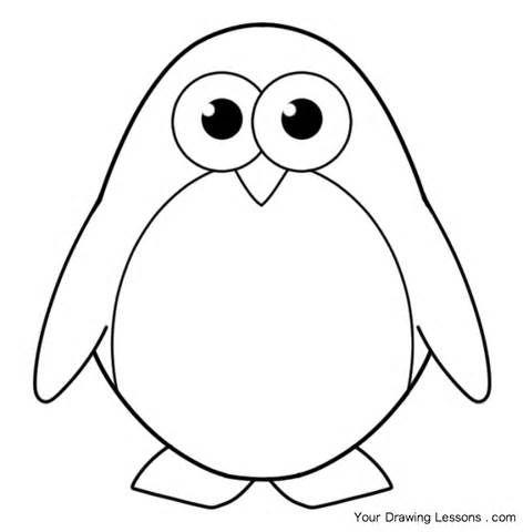pinguin kleuren Zuidpool Pinterest Template, Patterns and Craft - penguin template