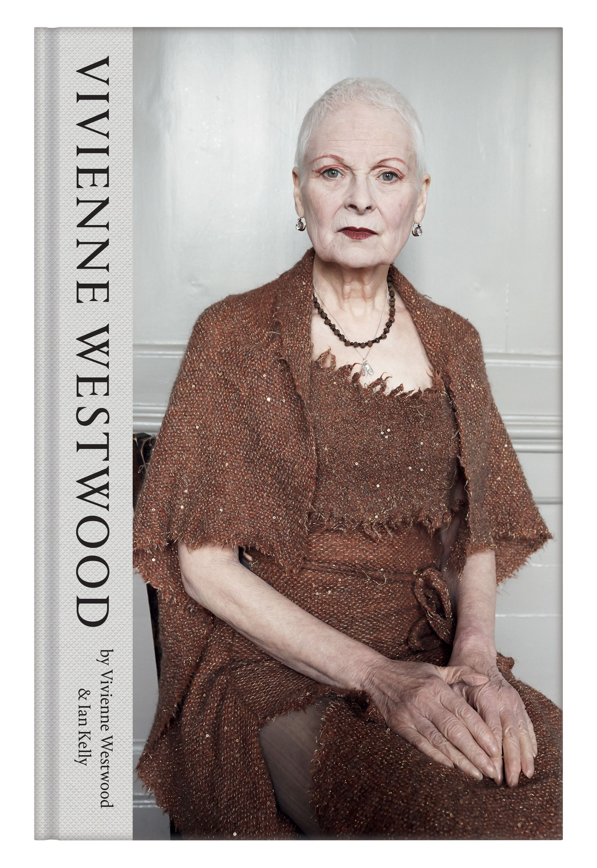 The cover photography by Juergen Teller of Dame Vivienne Westwood's debut biography has been unveiled in full for the first time today.