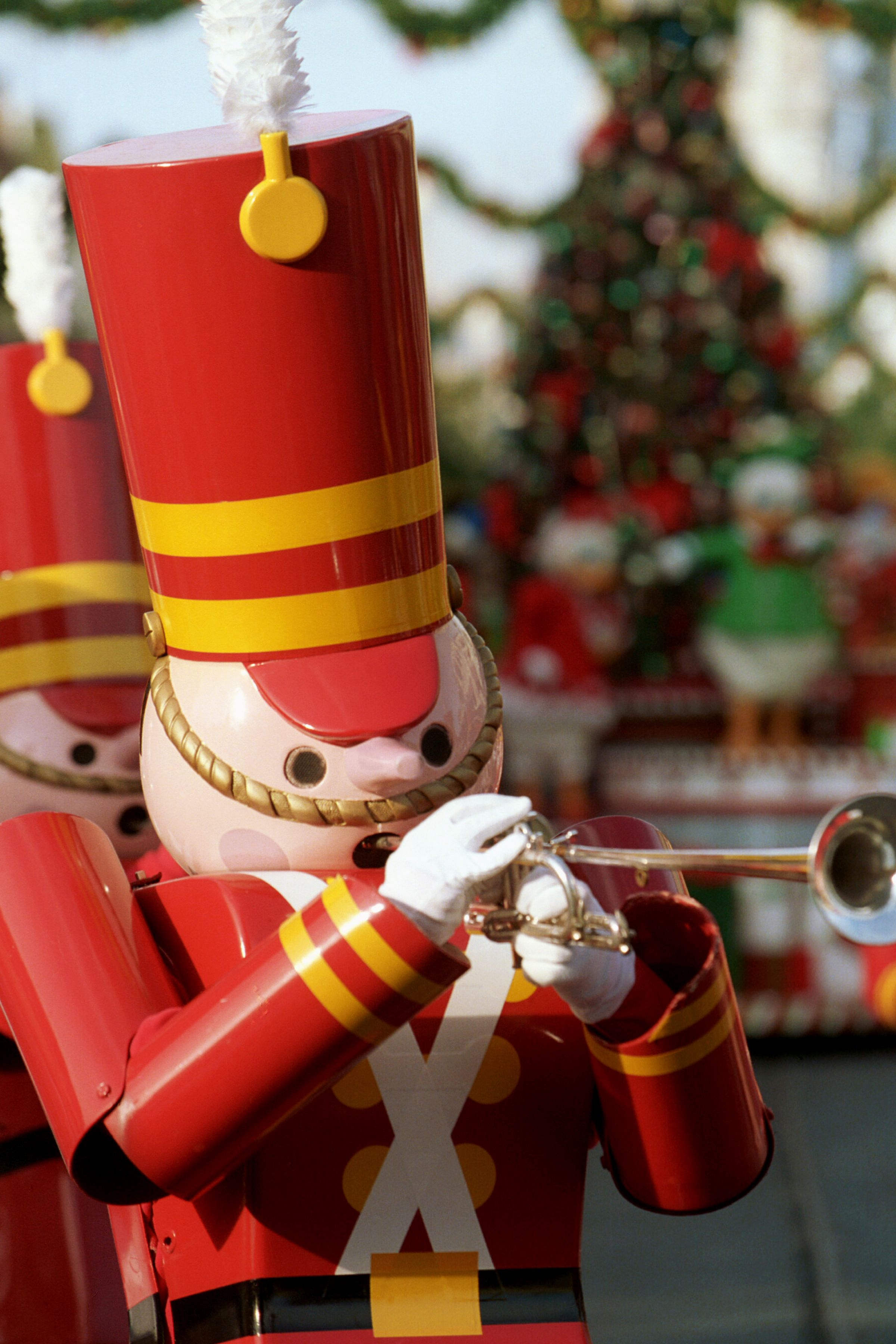 Imagine Watching A Parade Of Marching Toy Soldiers On Christmas