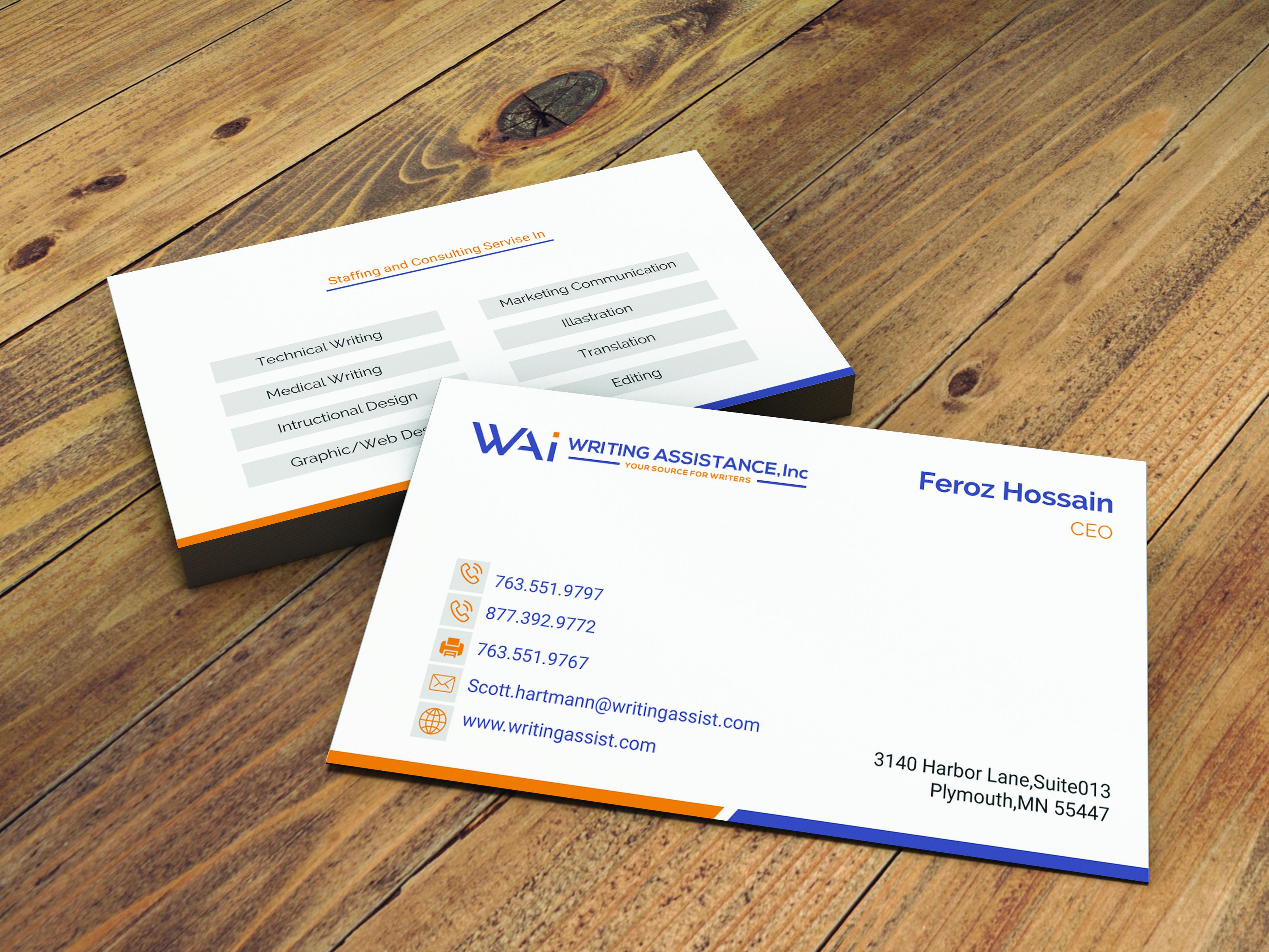 Simple Business Card Design By Ferozhossain145130 110009 Designhill Business Card Design Simple Business Card Design Simple Business Cards