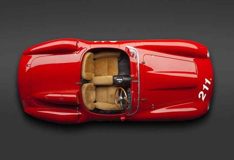 1957 Ferrari 625 TRC Spider  Photo: Ron Kimball