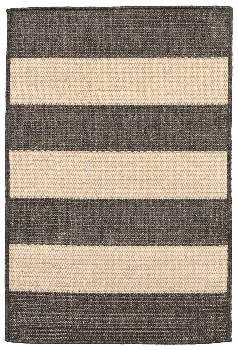 Trans-Ocean Imports TER23178977 Terrace Collection Grey Finish Everywear Rug