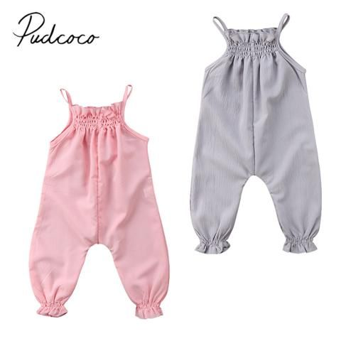 8dc3f7313ed8 2018 Brand New Cute Toddler Infant Newborn Baby Girls Clothes Strap ...