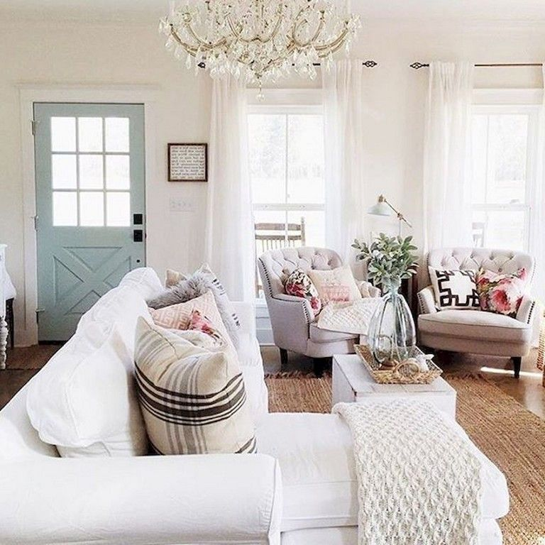 90+ Awesome Modern Farmhouse Curtains for Living Room Decorating