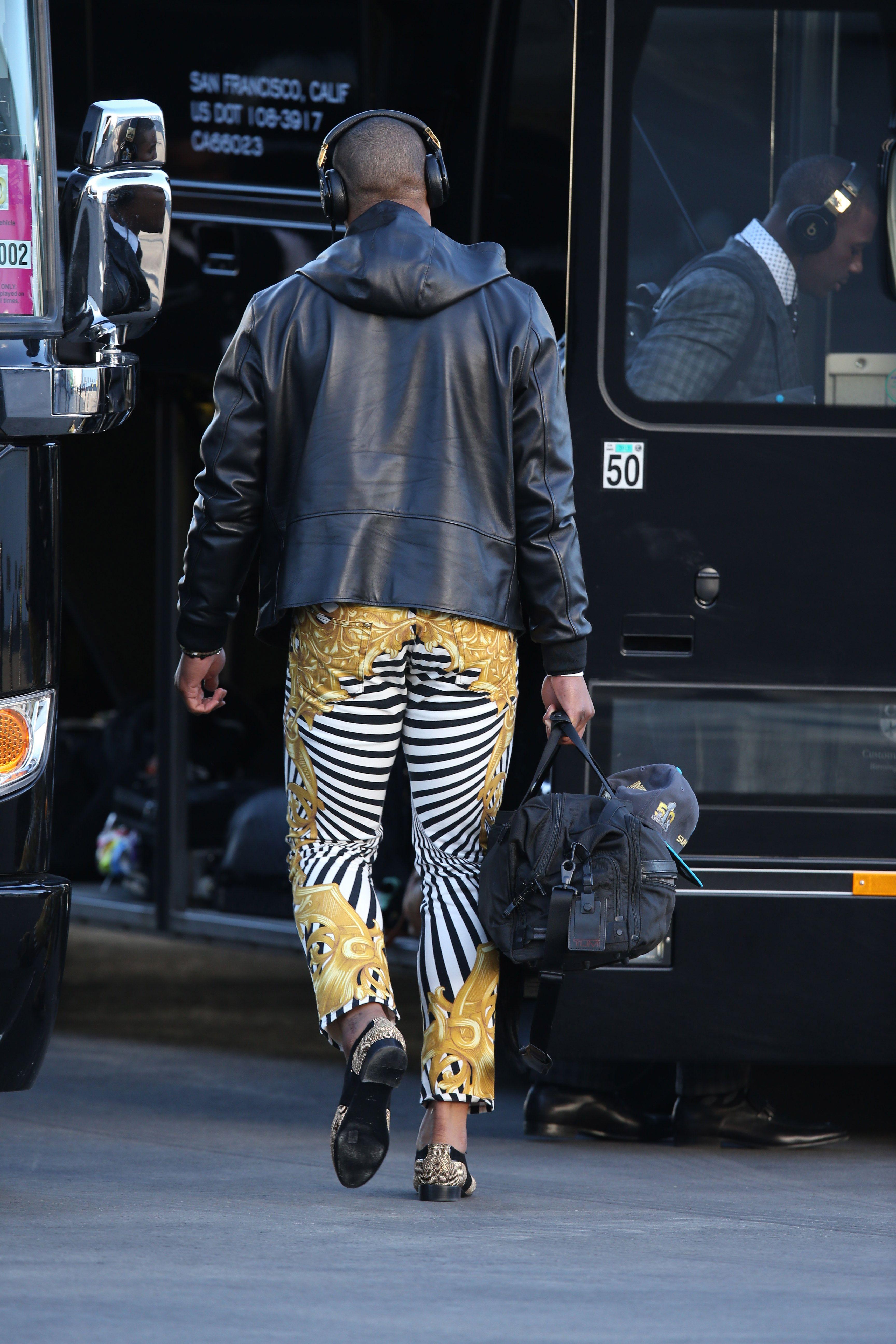 Cam Newton Animal Print Pants