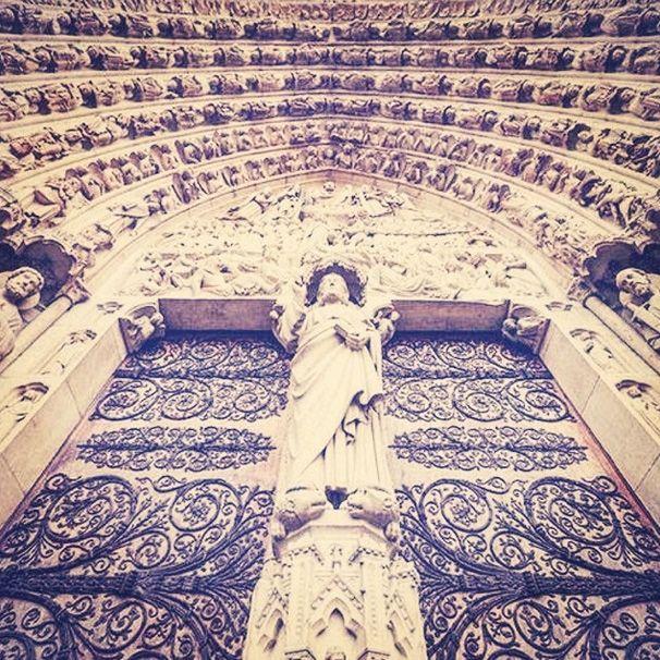 Hall of Saints, NotreDame.