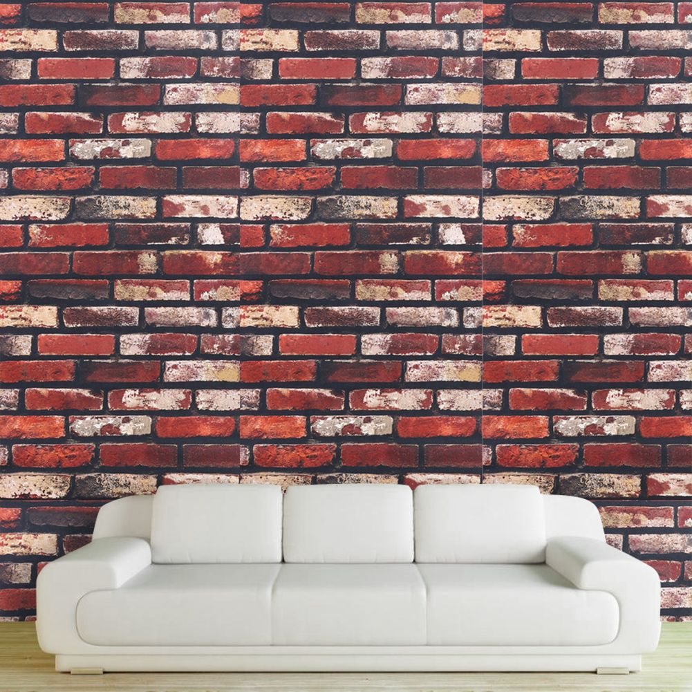 Best Removable Natural Brick Wall Stickers Adhesive Paste Room 640 x 480
