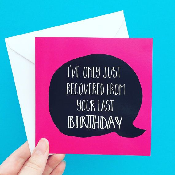Hangover Best Friend Birthday Card Funny Birthday Card For Etsy Birthday Cards For Her Birthday Cards For Friends Funny Birthday Cards
