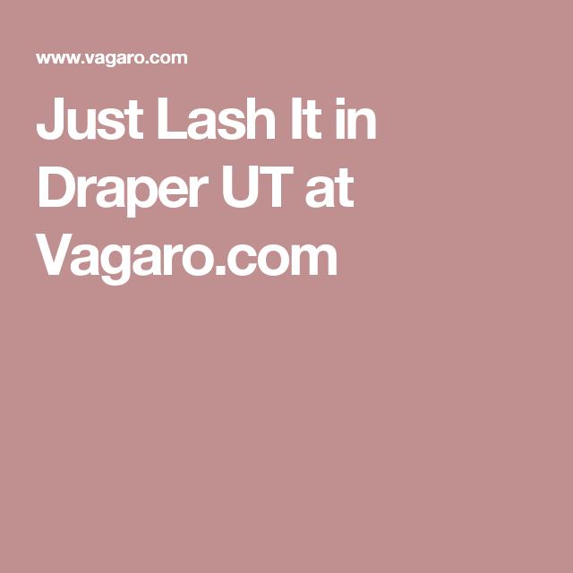 Just Lash It in Draper UT at Vagaro.com | Me. | Pinterest | Gift ...