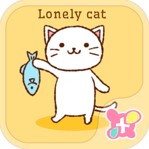 Cute Theme-Lonely Cat- 1.0.0