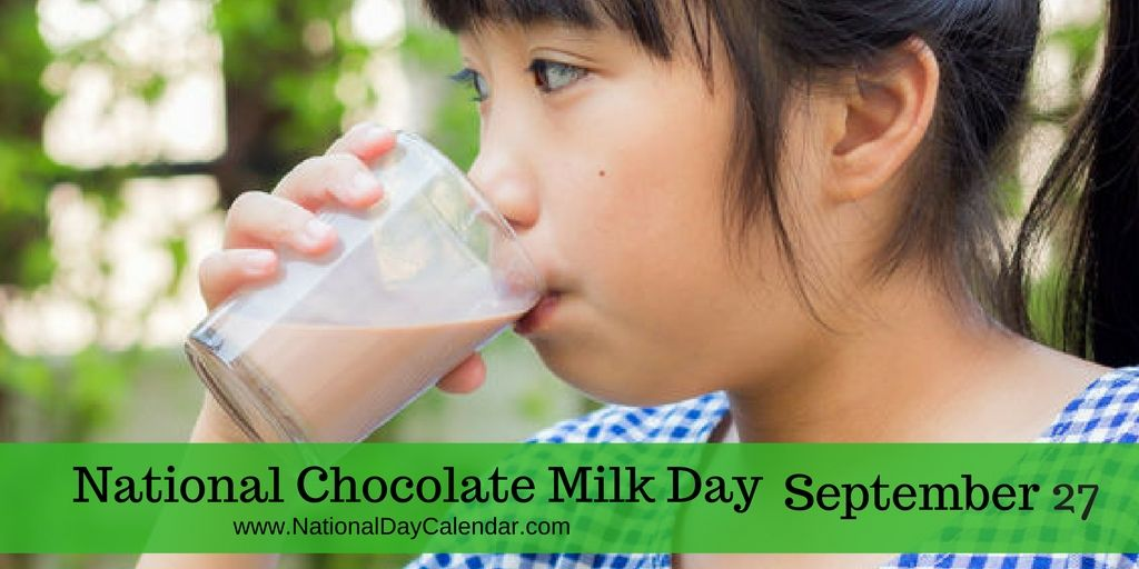National Chocolate Milk Day September 27 National Day Calendar Chocolate Milk Chocolate Milk Mix Corned Beef Hash