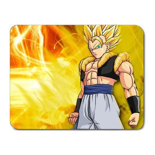 Ar09 42 Dragon Ball Super Saiyan Gogeta Pc Cloth Cover Square Mousepad