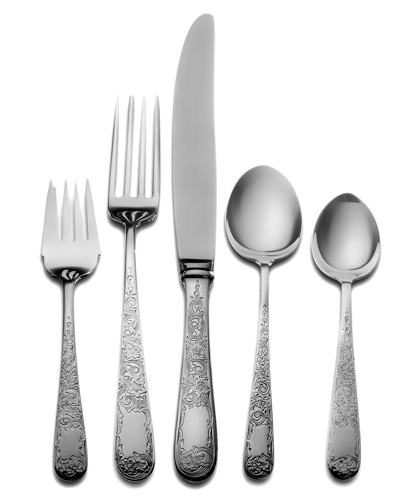 Kirk Stieff Sterling Silver Flatware Old Maryland Engraved 5 Dinner Piece Place Setting Flatware Sterling Silver Flatware Sterling Flatware Silver Flatware