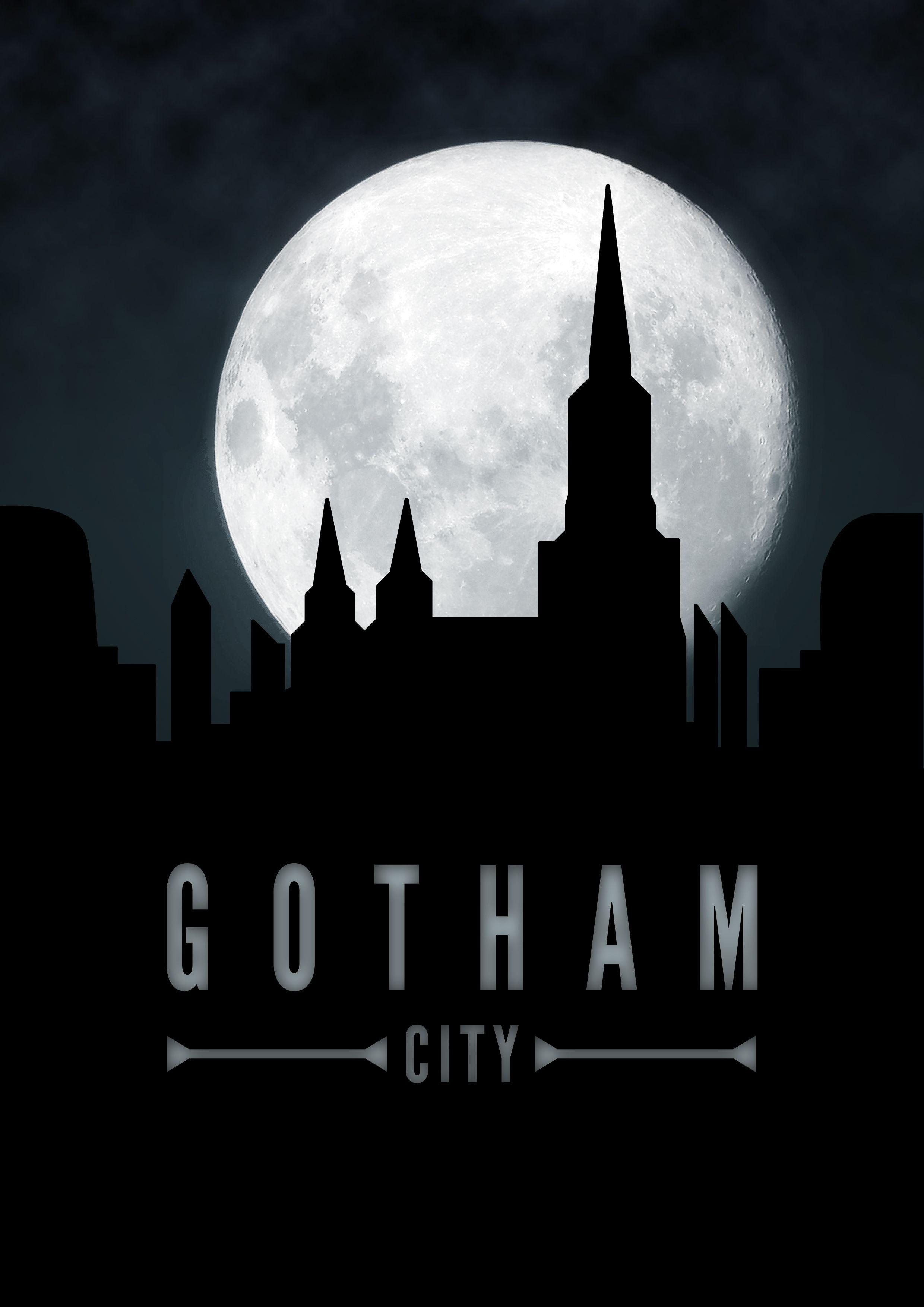 Gotham City | Batman birthday ideas | Pinterest