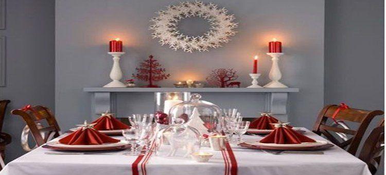 Décoration De Noël Rouge Et Blanc à Faire Soi Même Decoration