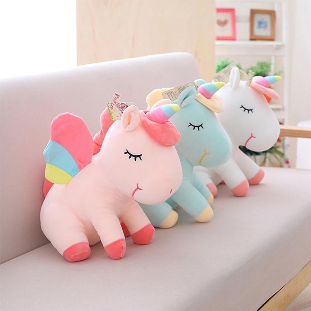 Plush Unicorn Doll Soft Pillow Baby Toys Pillow Plush Unicorn New Unicorn Doll Unicorn Toys Unicorn Plush [ 1000 x 1000 Pixel ]