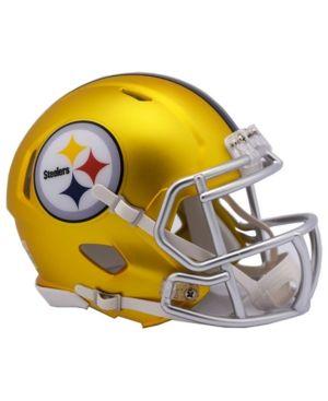 2425172022d Riddell Pittsburgh Steelers Speed Blaze Alternate Mini Helmet - Gold ...