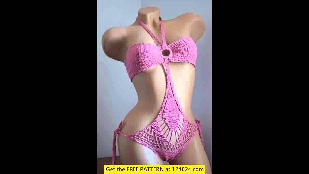 Easy crochet monokini pattern crochet projects pinterest easy crochet monokini pattern bankloansurffo Images