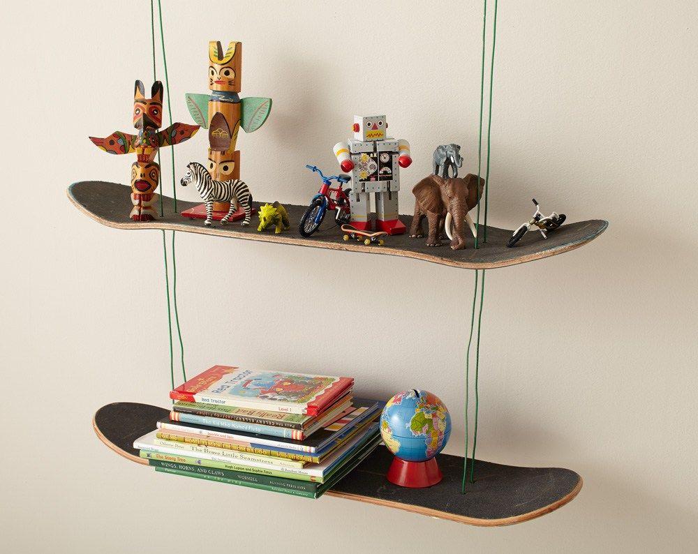Diy skate deck shelf skateboard shelves shelves diy deck