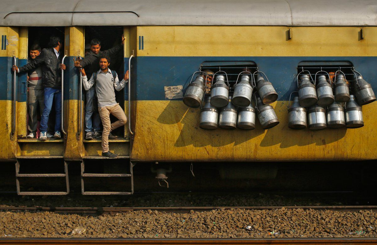 These photos of India's overcrowded railways will make you