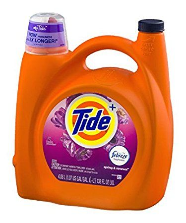 Tide Febreze Freshness Laundry Detergent Spring Renewal