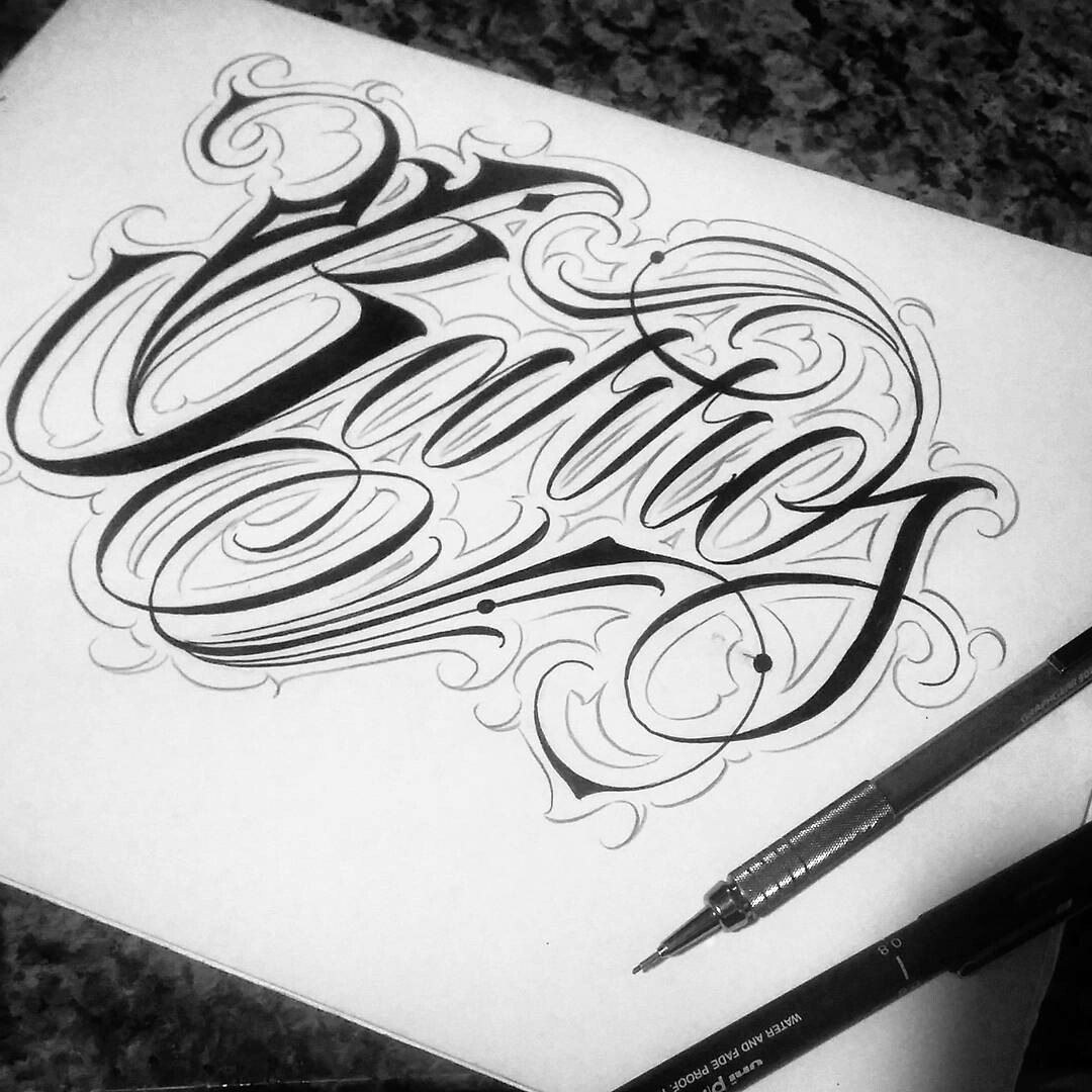 Create your own for Design your own tattoo lettering