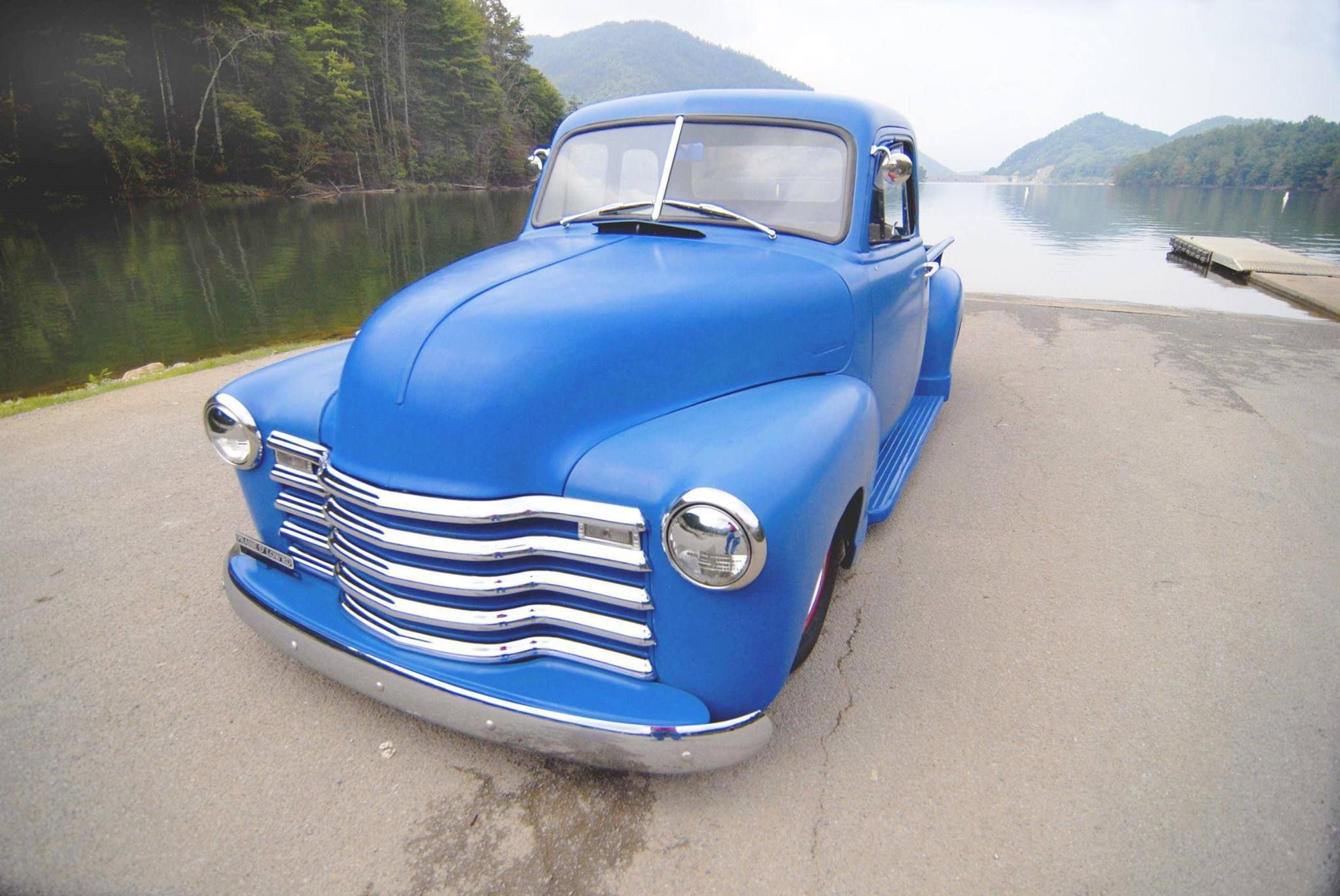 Chev Chevrolet Chevy Advanced Design pickup truck in a beautiful ...