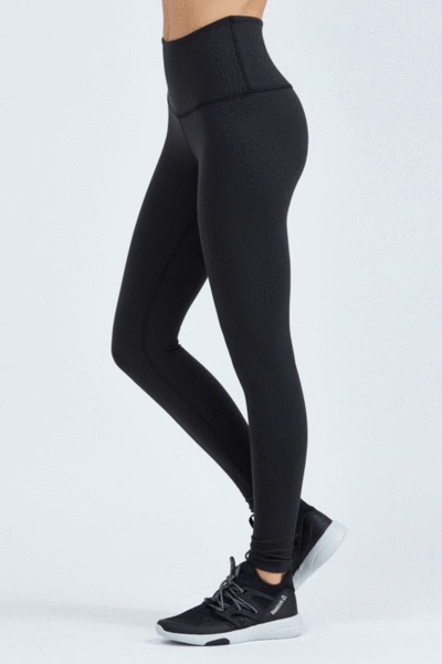 d2550dc27f0f6 Celine Black Super High Waisted Compression Tights | Gerrycan Active | Be  Activewear