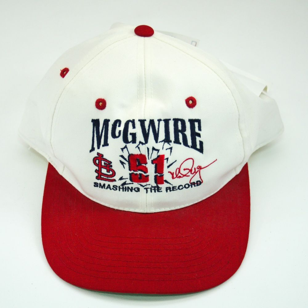 St Louis Cardinals Mark McGwire Baseball Cap Hat