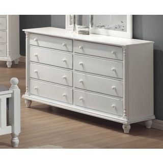 For Coaster Company Peyton White Dresser Get Free Shipping At