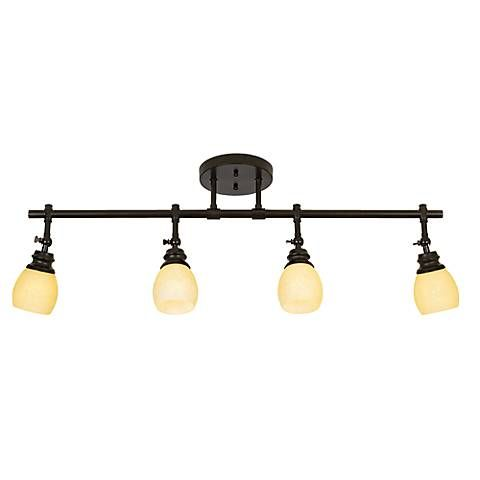 Elm Park Led Bronze Track Wall Or Ceiling Light Fixture Style 44878 7v915