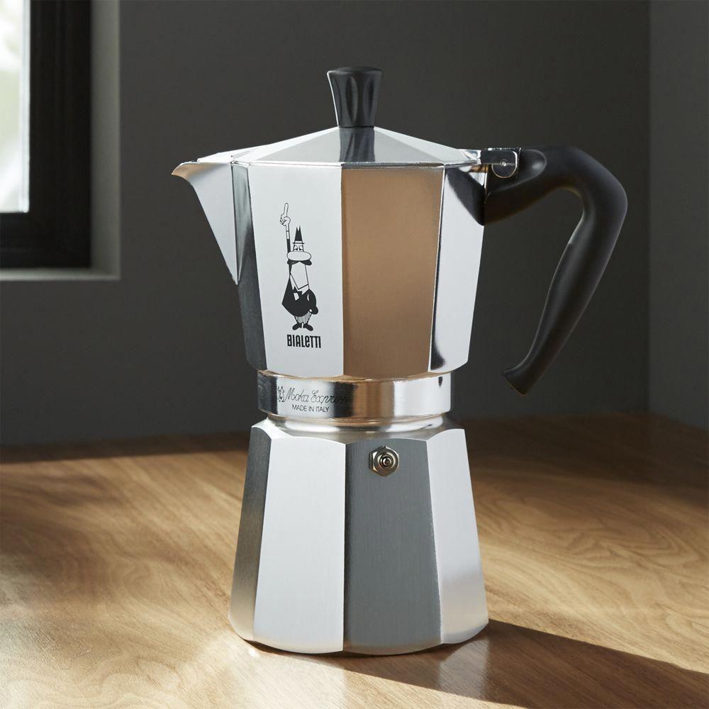 Bialetti moka aluminum cup espresso maker italiancoffee