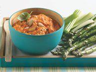 Roasted Red Pepper and Artichoke Dip recipe from Betty Crocker