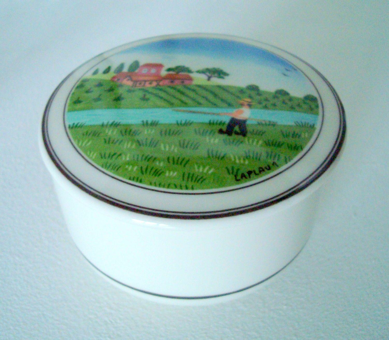 Купить Фарфоровая шкатулочка Villeroy & Boch «Naif» - зеленый, фарфор, фарфоровый подарок