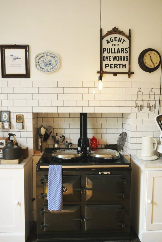 10 Kitchens with Tea Kettles Ready for Fall
