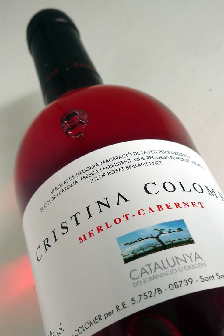 Vino De Catalunya Rose Wine Bottle Wine Bottle Wine Lovers