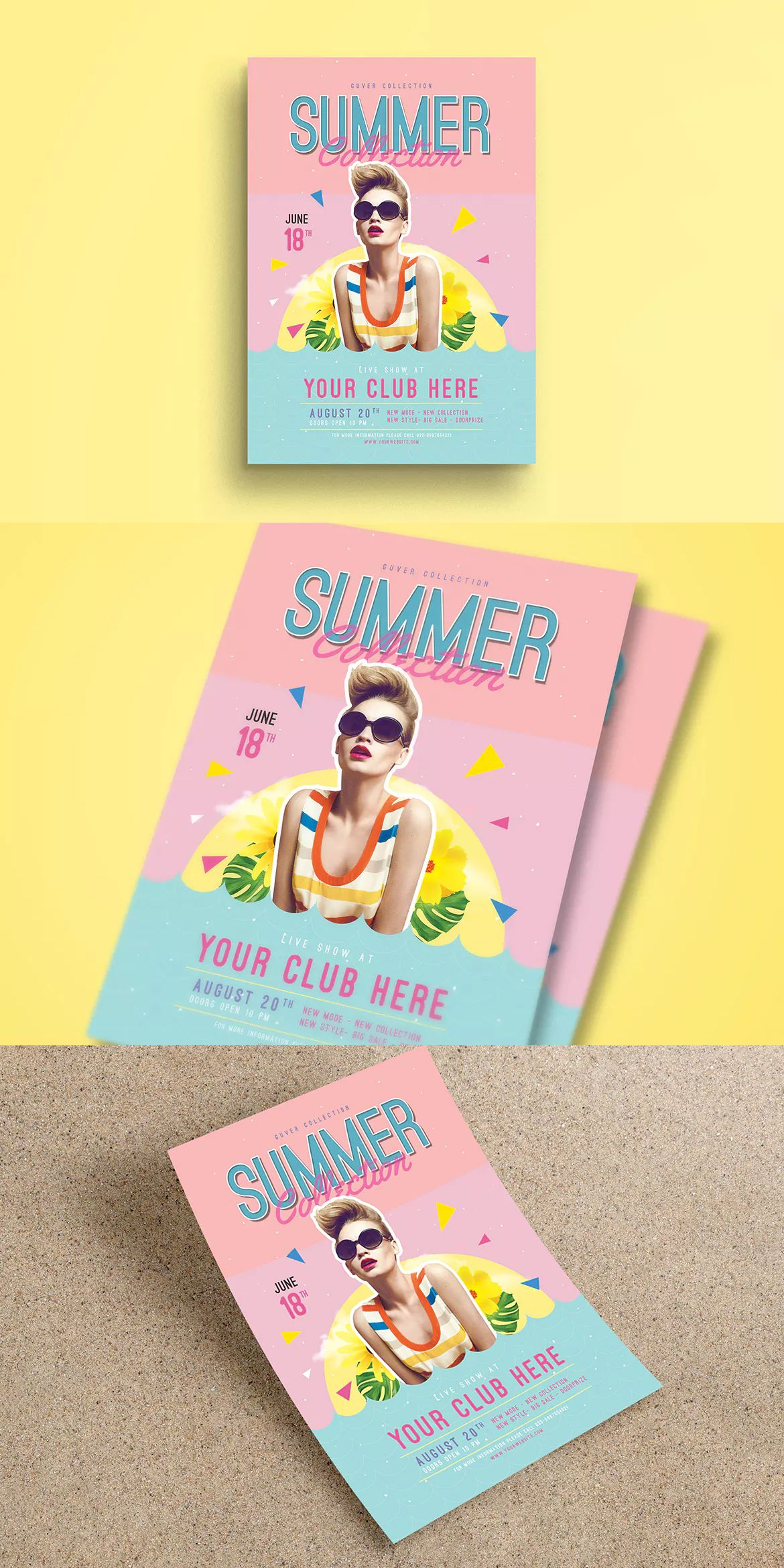 Summer event flyer template psd a4 flyer design templates summer event flyer template psd a4 maxwellsz