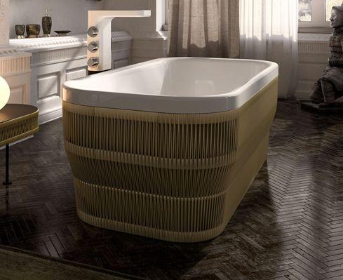 Vasca Da Bagno Tradizionale : Glass idromassaggio vasca da bagno ovale in acrilico hilo by