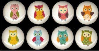 Cute! Ceramic knobs for my DIY'd  tallboy