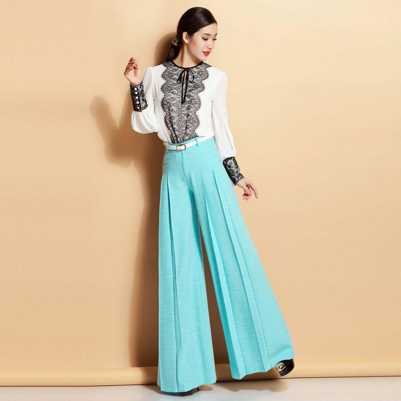 Wide Leg Pant For Women Wide Leg Dress Pants Plus Size Clothing